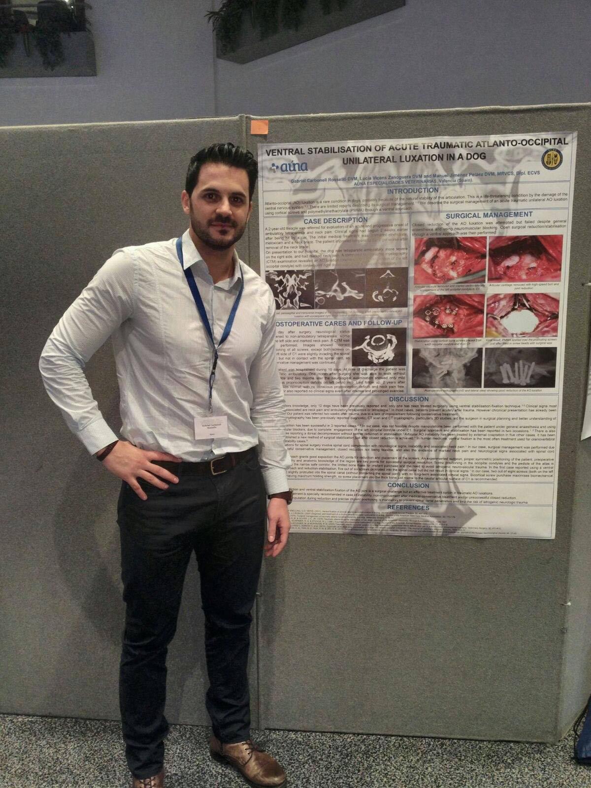 Cirugia veterinaria - Gabriel Carbonell Congreso Europeo Cirugia Veterinaria