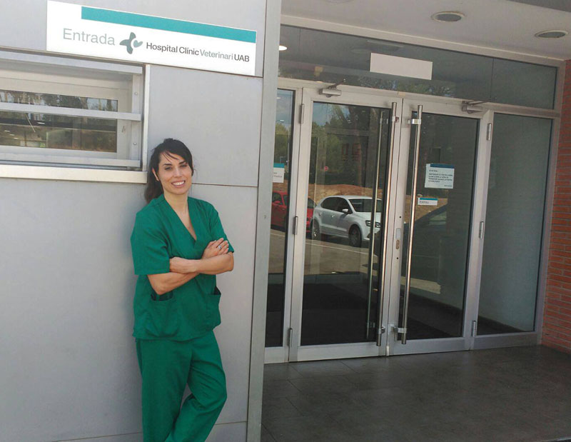 veronica peraile dermatologia veterinaria UAB