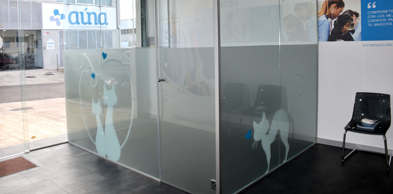 sala espera gatos - Auna Especialidades Veterinarias